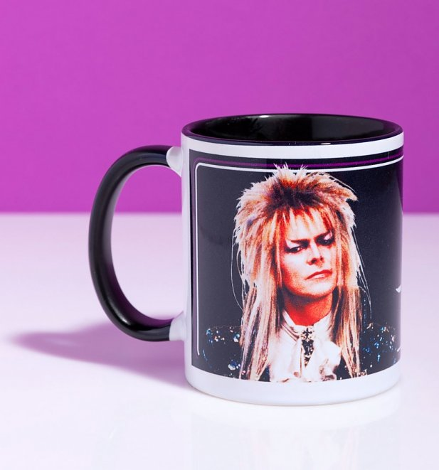Labyrinth Babe Mug With Black Handle
