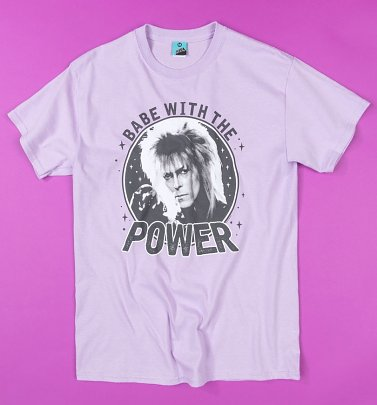 Labyrinth Babe With The Power Orchid T-Shirt