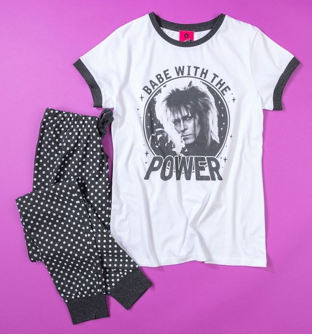 Labyrinth Babe With The Power Pyjama Set