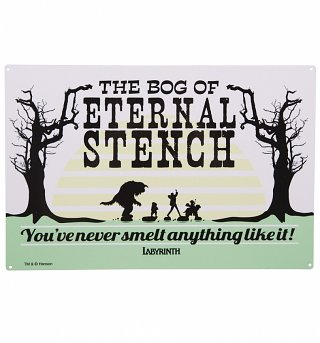 Labyrinth Bog of Eternal Stench Metal Sign