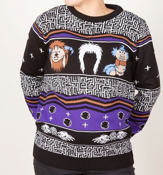 Labyrinth Christmas Jumper