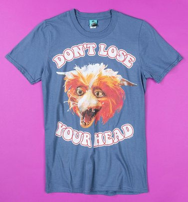 Labyrinth Fireys Don't Lose Your Head Blue T-Shirt