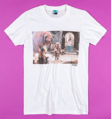 Labyrinth Friends Screenshot White T-Shirt