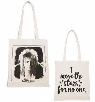 Labyrinth I Move The Stars For No One Deluxe Tote Bag