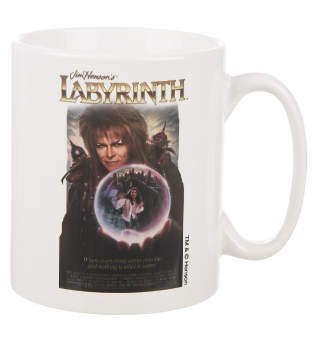 Labyrinth Crystal Ball Movie Poster Boxed Mug