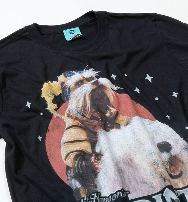 Labyrinth Sir Didymus Black T-Shirt