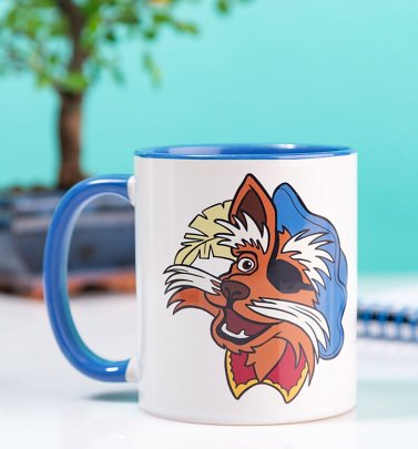 Labyrinth Sir Didymus Blue Handle Mug