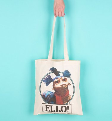 Labyrinth Worm Ello Tote Bag