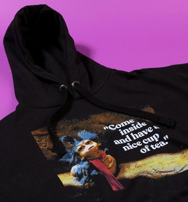 Labyrinth Worm Quote Black Hoodie