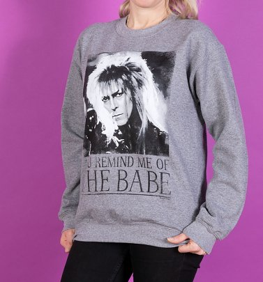 Labyrinth You Remind Me Of The Babe Bowie Labyrinth Sweater