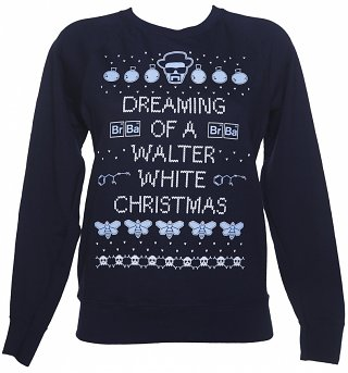 Women's Breaking Bad Christmas Jumper