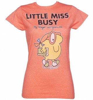 Women's Little Miss Busy T-Shirt