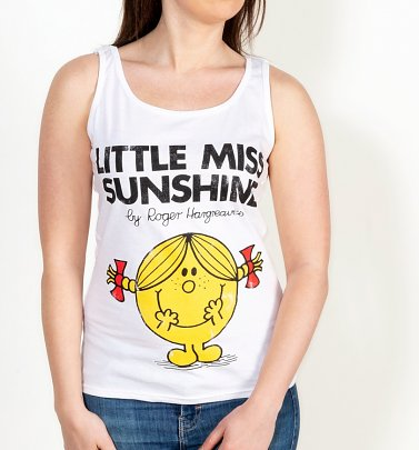 Women's Little Miss Sunshine Fitted Vest