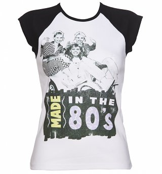 Women's Pat Sharp Made in the 80s Contrast Sleeve T-Shirt
