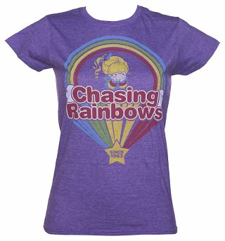 Women's Rainbow Brite Chasing Rainbows T-Shirt