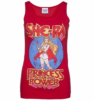 Women's Red She-Ra Princess Of Power Vest