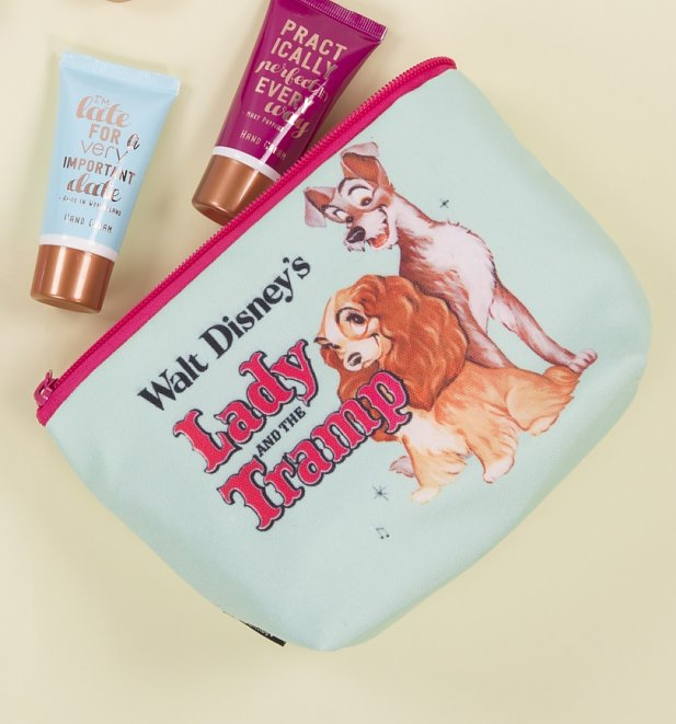 Lady and the Tramp Vintage Disney Wash Bag