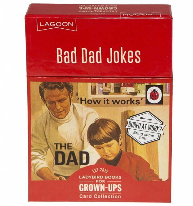 Ladybird Books For Grown Ups The Dad Bad Dad Jokes Card Collection