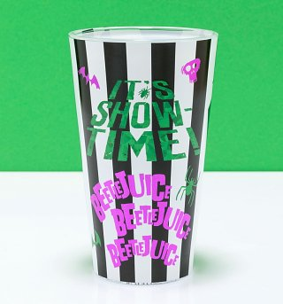 Large Beetlejuice Suit Glass