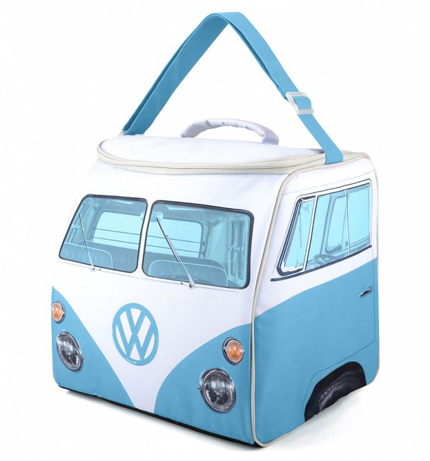 Large Blue VW Camper Van Cooler Bag