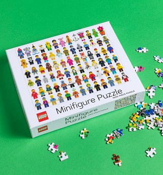 Lego Mini Figure 1000 Piece Jigsaw Puzzle
