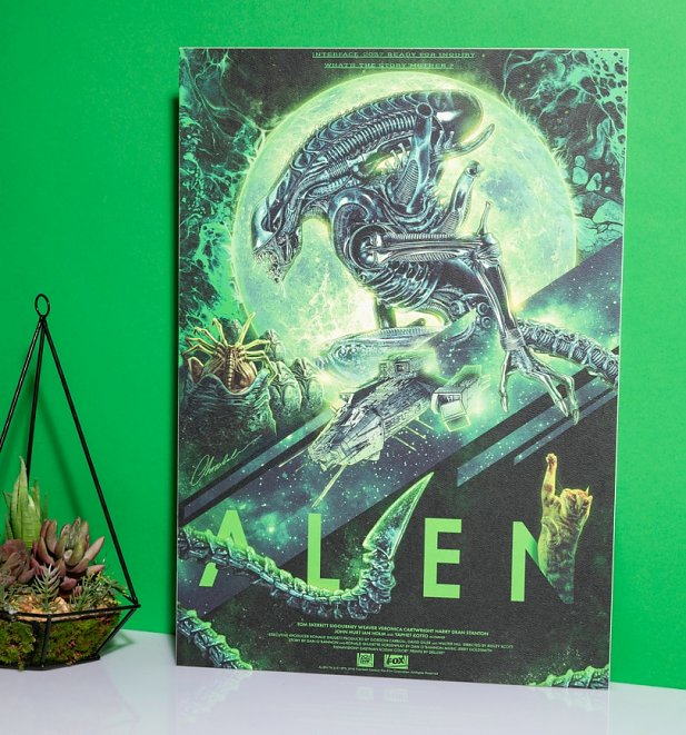Limited Edition Alien Art Print