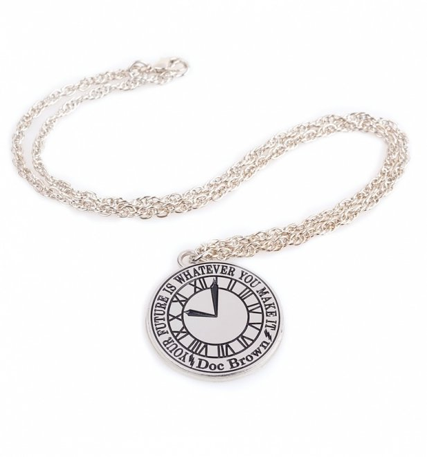 Limited Edition Back To The Future Clock Tower Necklace