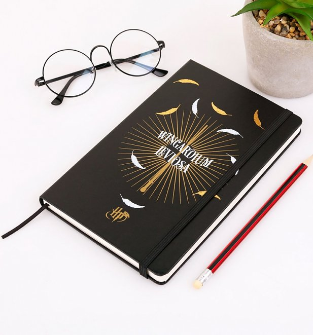 Limited Edition Harry Potter Wingardium Leviosa Ruled Notebook from Moleskine