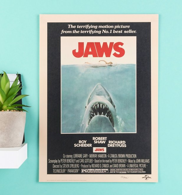 Limited Edition Jaws Art Print