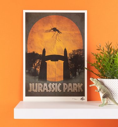 Limited Edition Jurassic Park Art Print