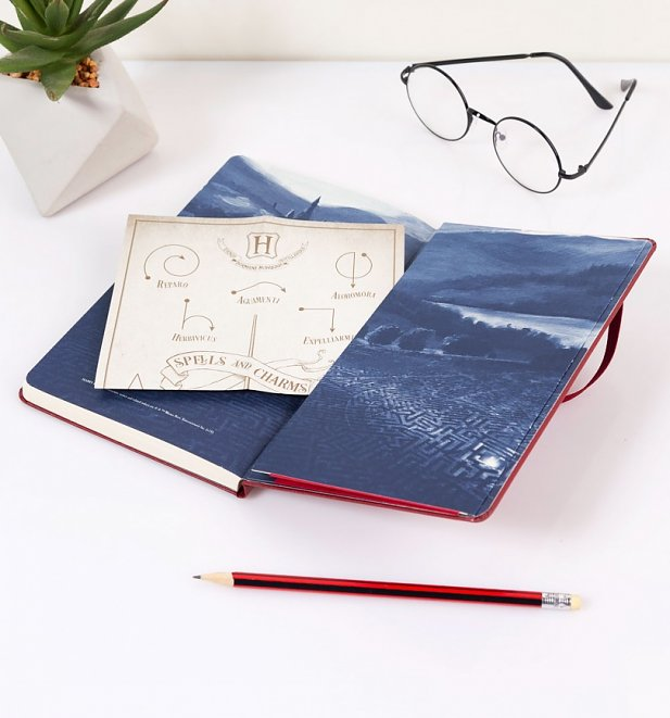 Limited Edition Red Harry Potter Marauder's Map Ruled Notebook from Moleskine