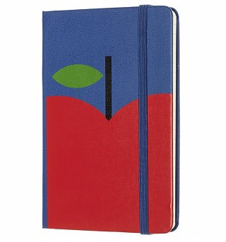 Limited Edition Snow White Apple Ruled Pocket Notebook from Moleskine