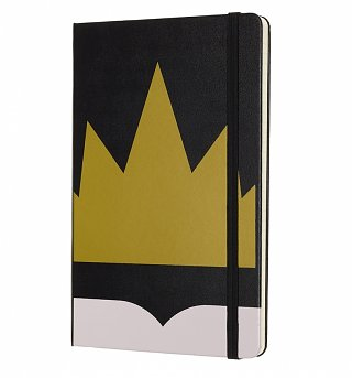 Limited Edition Snow White Crown Ruled Notebook from Moleskine