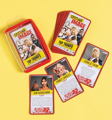 Limited Edition Spitting Image Top Trumps