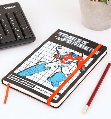 Limited Edition Transformers Optimus Prime Ruled Notebook from Moleskine