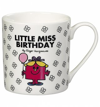 Little Miss Birthday Boxed Mug