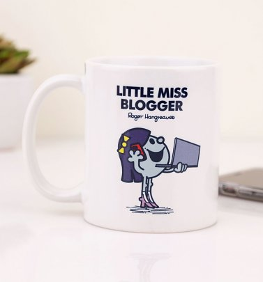 Little Miss Blogger Tasse