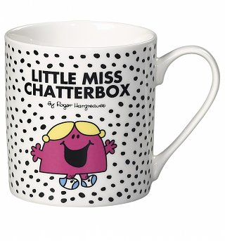 Little Miss Chatterbox Boxed Mug