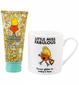 Little Miss Fabulous Shower Wash And Mug