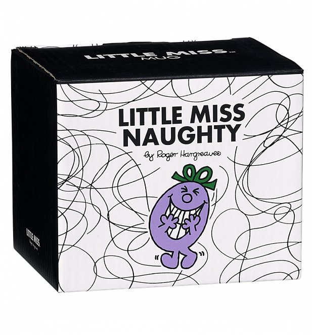 Little Miss Naughty Boxed Mug