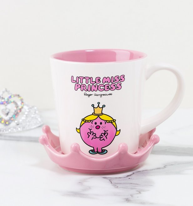 Little Miss Princess Crown Mug