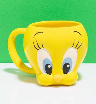 Looney Tunes Tweety Pie Shaped Mug