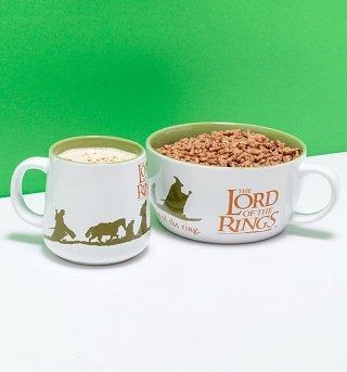 Lord Of The Rings Breakfast Set