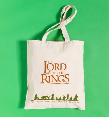 Lord Of The Rings Canvas Tote Bag