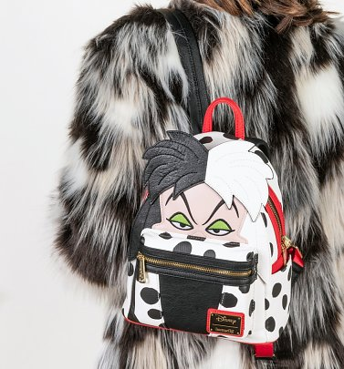 Loungefly 101 Dalmatians Cruella de Vil Mini Backpack