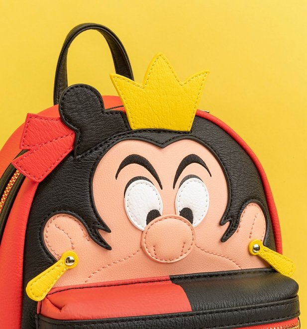 Loungefly Disney Alice in Wonderland Queen of Hearts Mini Backpack