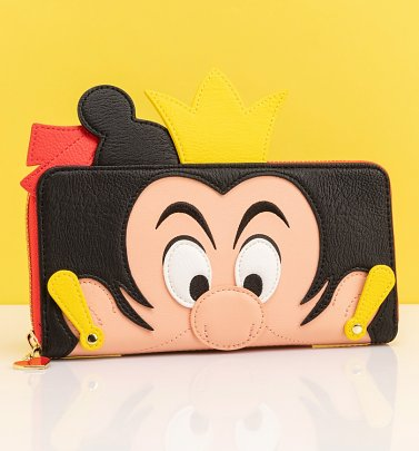 Loungefly Disney Alice in Wonderland Queen of Hearts Wallet