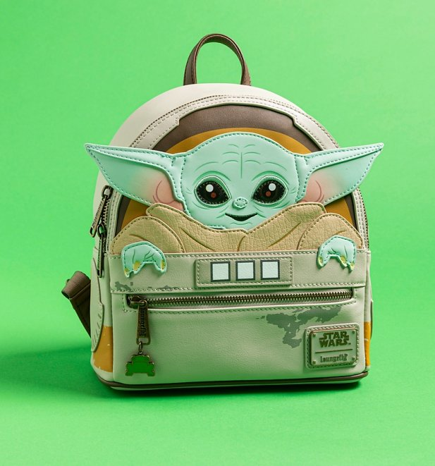 oungefly Baby Yoda Star Wars The Mandalorian The Child Cradle Mini Backpack