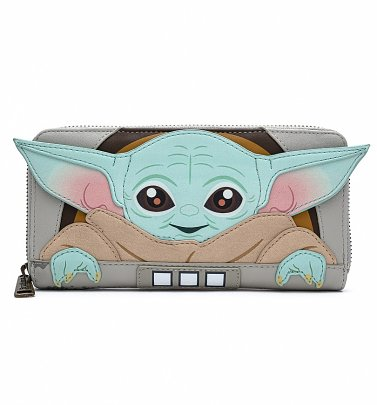 Loungefly Baby Yoda Star Wars The Mandalorian The Child Cradle Wallet
