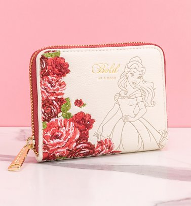 Loungefly Disney Beauty and the Beast Belle Floral Mini Purse